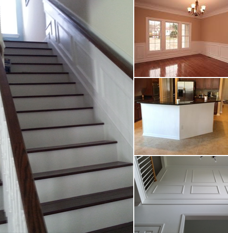 Different Kinds of Wainscoting in Jacksonville, FL