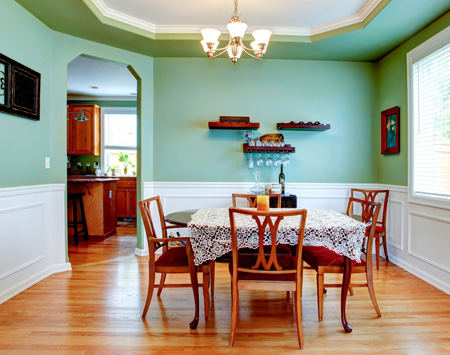 Dinning Room with Chair Railing in Jacksonville, FL